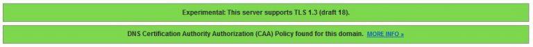 SSL Labs CAA